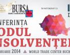 Conferinta CODUL INSOLVENTEI – Bucuresti, 20 februarie 2014