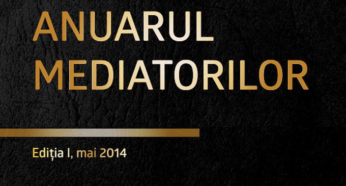 Prima editie a Anuarului Mediatorilor, mai 2014