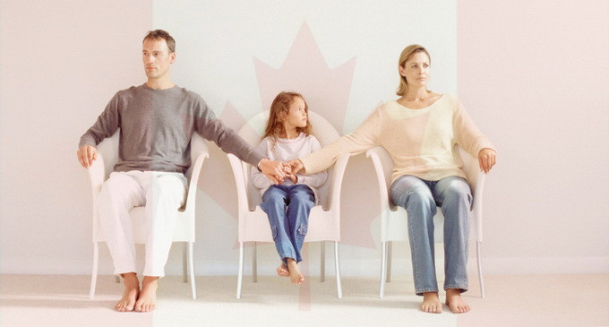 Custodia comuna in Canada