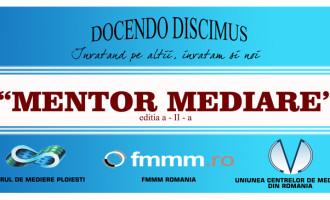MENTOR MEDIARE – formare continua gratuita pentru mediatori