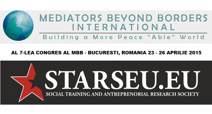 Congresul al 7-lea al Mediators Beyond Borders – Bucuresti, Romania, 23-26 Aprilie 2015