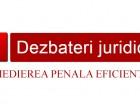 Medierea penala eficienta