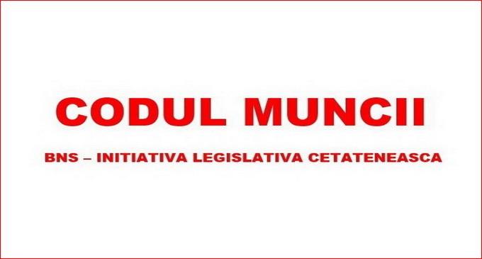 Initiativa BNS de modificare a Codului Muncii a fost adoptata in Senat