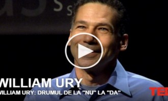 "William   Ury – Drumul  de la ""nu"" la ""da"""